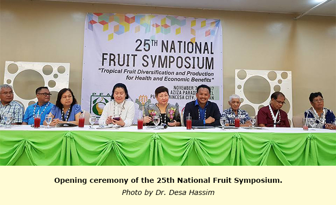 TFNet CEO guests in the 25th Philippine National Fruit